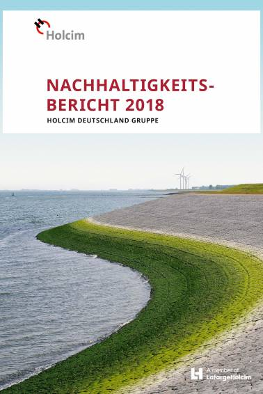 Nachhaltigkeitsbericht 2018 Titelblatt