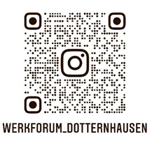 Fossilienmuseum QR Code Instagram 2,5x2,5