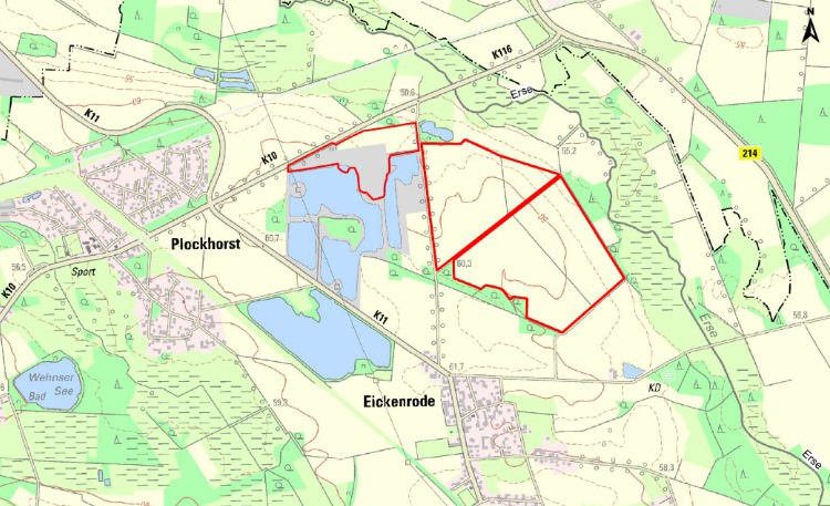 Kieswerk Plockhorst neu